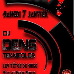 dj set by Dens at  Les Tetes de Singes 070117
