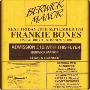 Frankie Bones - Berwick Manor, Essex - 28.9.91