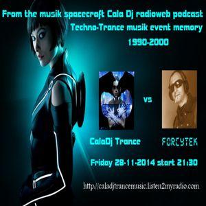 Techno-Trance musik event memory 1990-2000