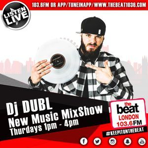 #NewMusicMixshow With DJ DUBL (27.04.17 1pm-4pm)