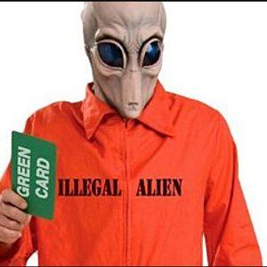 Alien in the living room