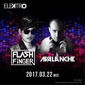 AvAlanche DJ Live Recording @ Asia Tour at Elektro, Taipei, Taiwan 22nd Mar 2017