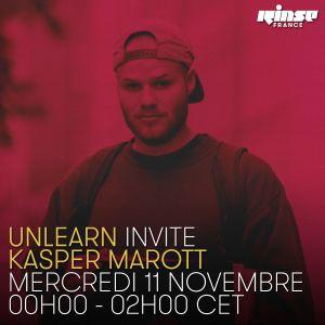 Unlearn Invite Kasper Marott - 11 Novembre 2015