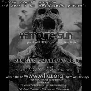 "VΛmpyr ϟuИ"" Wi┼cђ┼▲pE̢͏̫̤̫̙͙͕̥̪s on WFKU. Wi┼ђh cvlt djs AИdrvj 66.6 and 209 SIИS dec 1 2016"