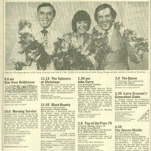 Music from Oct 1978 and radio from 1970