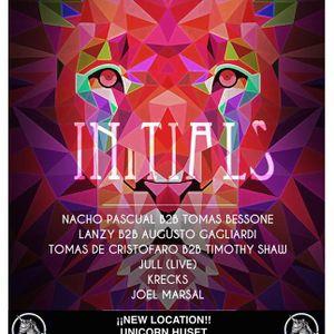 Nacho Pascual B2B Tomas Bessone @ Initials (30-04-16)