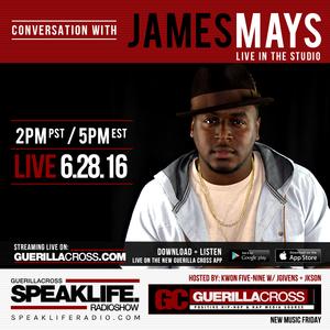 SPEAKLIFE Radio: Conversation w/ James Mays [Episode 10.15]