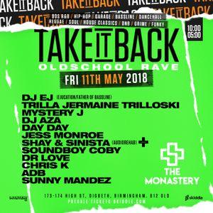 @DJMYSTERYJ | 90s R&B Mix | #TakeItBackRave Fri 11th May
