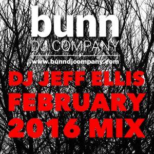 DJ Jeff Ellis - February 2016 Mix