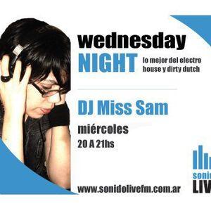 19-01 Wednesday Night - Miss Sam @Sonido Live Fm