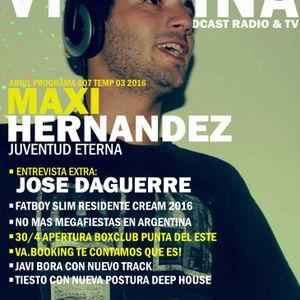 Vitamina Temp 03 Cap 007 | Maxi Hernandez | Jose Daguerre