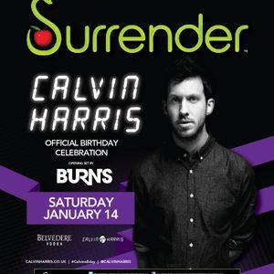 Calvin Harris - Live @ Official Birthday, Surrender Nightclub, Las Vegas, E.U.A. (14.01.2012)