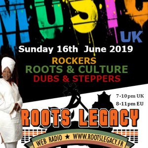 3 Hours Of Music ROOTS LEGACY RADIO ON THE ROCKERS & DUB SHOW