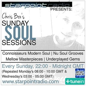 Chris Box's Sunday Soul Sessions, 14/5/2017 (HOUR 2), Starpoint Radio