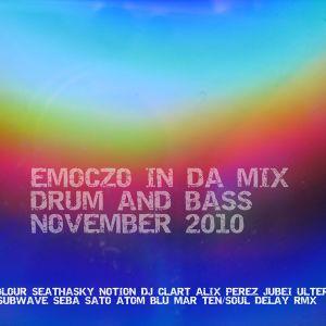 EMOCZO IN DA MIX DRUM AND BASS NOVEMBER 2010