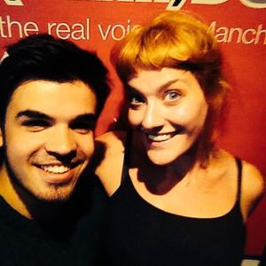 26.6.2014 Sophie Sveinsson on AllFM 96.9 with Cian Gleeson