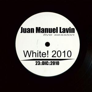 Juan Lavin @ White! 2010 (23/12/2010)