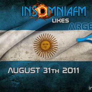 Dj Lemy - Guest InsomniaFM likes Argentina (08-2011)