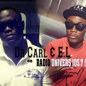 Dr Carl & E.L on Radio Univers 105.7fm