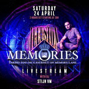 Illusion Memories Livestream with DJ Stijn VM