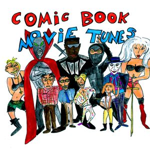 Amateur Best's Comic Book Movie Mixtape