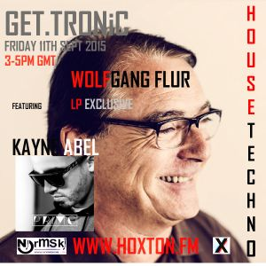 GET.TRONiC with Wolfgang Flur Exclusive 'Eloquence - Total works' LP & Kayne Abel Primo Dj mix 11/9