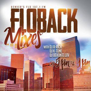 DJ A RICH - 9 O'CLOCK FLOBACK MIX - FLO 1071 FM 3 24 16