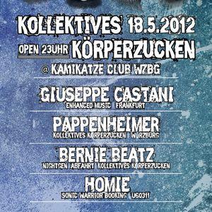 Homie @ Kollektives Körperzucken Würzburg