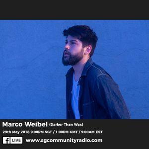 SGCR Radio Show #66 - 29.05.2018 Episode Part 2 ft. Marco Weibel (Darker Than Wax)