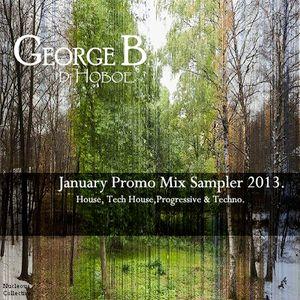 January Promo Mix Sampler 2013_George B (Dj hoboe)