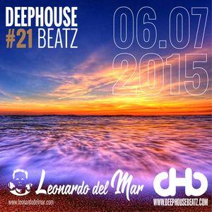 DeepHouseBeatz Volume 21 - 06.07.2015 by Leonardo del Mar
