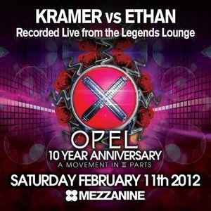 DJ Kramer vs Ethan : Recorded Live from the Legends Lounge