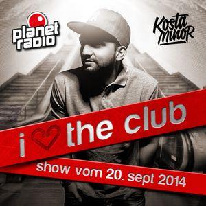 Kosta Minor - Planet The Club 20th sept '14