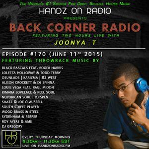 BACK CORNER RADIO: Episode #170 [#THROWBACK EDITION] (June 11h 2015)