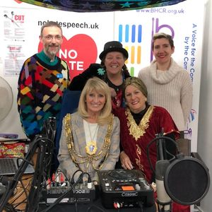 Your Voice Matters with Mayor Dee, Jilliana and Sus at the Brighthelmi 23 Nov 2018