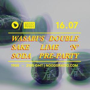 Wasabi's Double Sake Lime 'N' Soda Pre-Party