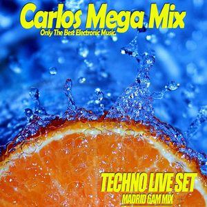 ★Carlos Mega Mix - TECHNO LIVE SET (MADRID 6AM MIX)