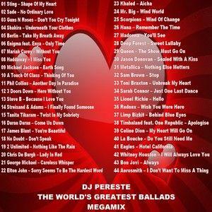 DJ Peretse - The World's Greatest Ballads Megamix (Section Love Mixes)