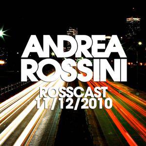 Andrea Rossini - RossCast - 11/12/2010