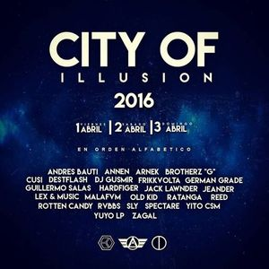 Andres Bauti @ City Of Illusion 2016 (Set Live)