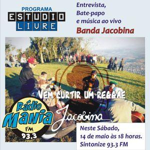 8° Edição do Estúdio Livre - com Banda Jacobina
