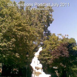 DJ GrooveJet - Sky Sessions Podcast July 2011