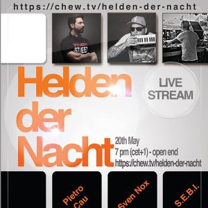 Live Set Pietro Cau Helden der Nacht Mai 2016