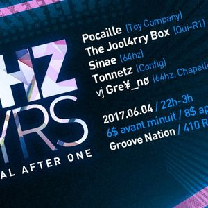 64hz 10YRS June 4th 2017, After party Piknic