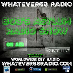 Bob's Asylum Radio recorded live on whatever68.com 1/9/2017