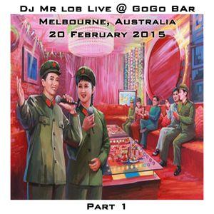 Live @ GoGo Bar Part 1