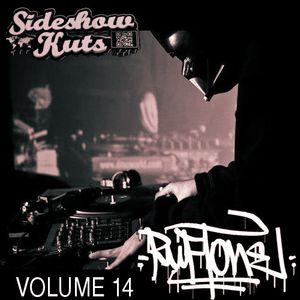 SIDESHOW KUTS VOLUME 14 MIXED BY RITCHIE RUFTONE WORLD DMC SUPREMACY CHAMPION