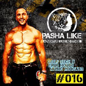 #016 Deep, Tech & True House Music Podcast by Pasha Like