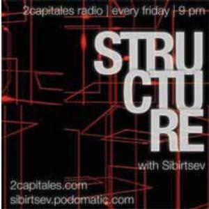 Structure Radio Show 008 (2Capitales Radio, Paris) fresh'n'exclusive by Kristina Vixen (25.03.2011)