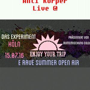 Live @ E Rave Summer Open Air 17.06.16